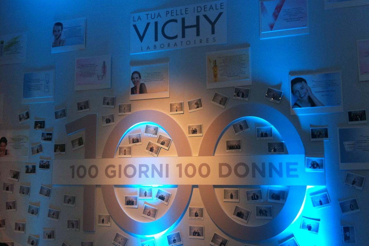 """Vichy festeggia con Grazia il progetto """"100 donne per 100 giorni"""""""