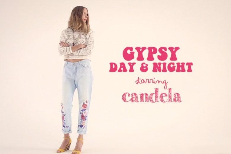 Gypsy girl, il videotrend della p/e 2014 con Candela Novembre