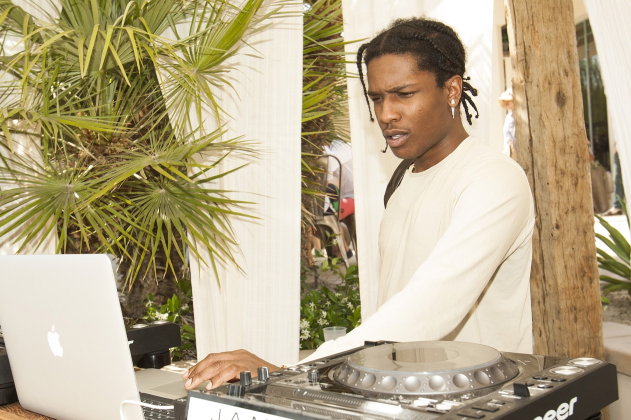 Recording Artist ASAP Rocky attends the Spotify Brunch at Soho Desert House with Bacardi Day 2c