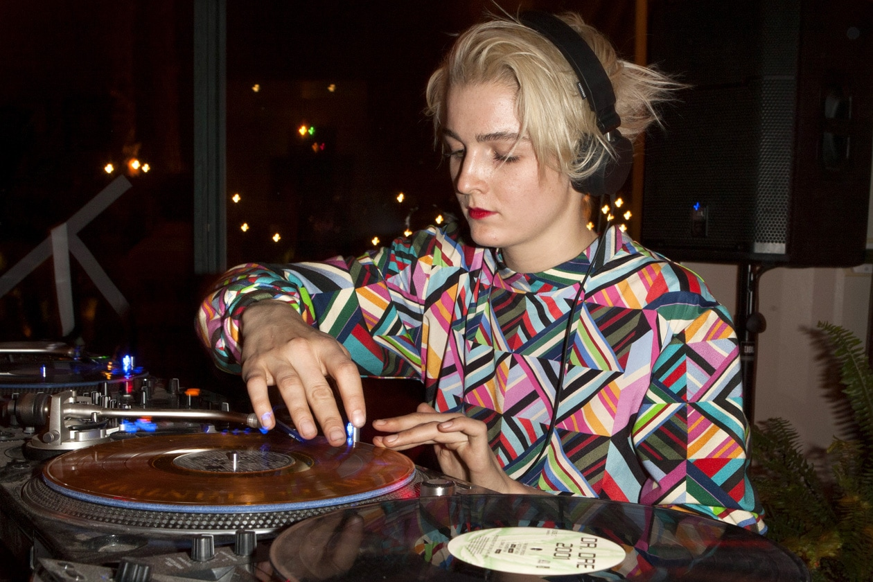 DJ Allie Teilz attends the Soho Desert House with Bacardi and Spotify Day 2c