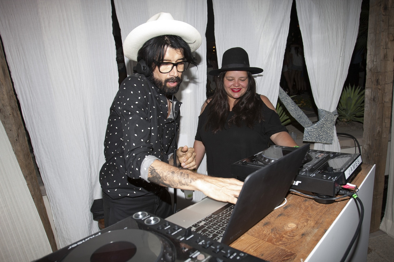 DJ Miles Hendrix spins at Soho Desert House with Bacardi and Spotify Day 1 copy