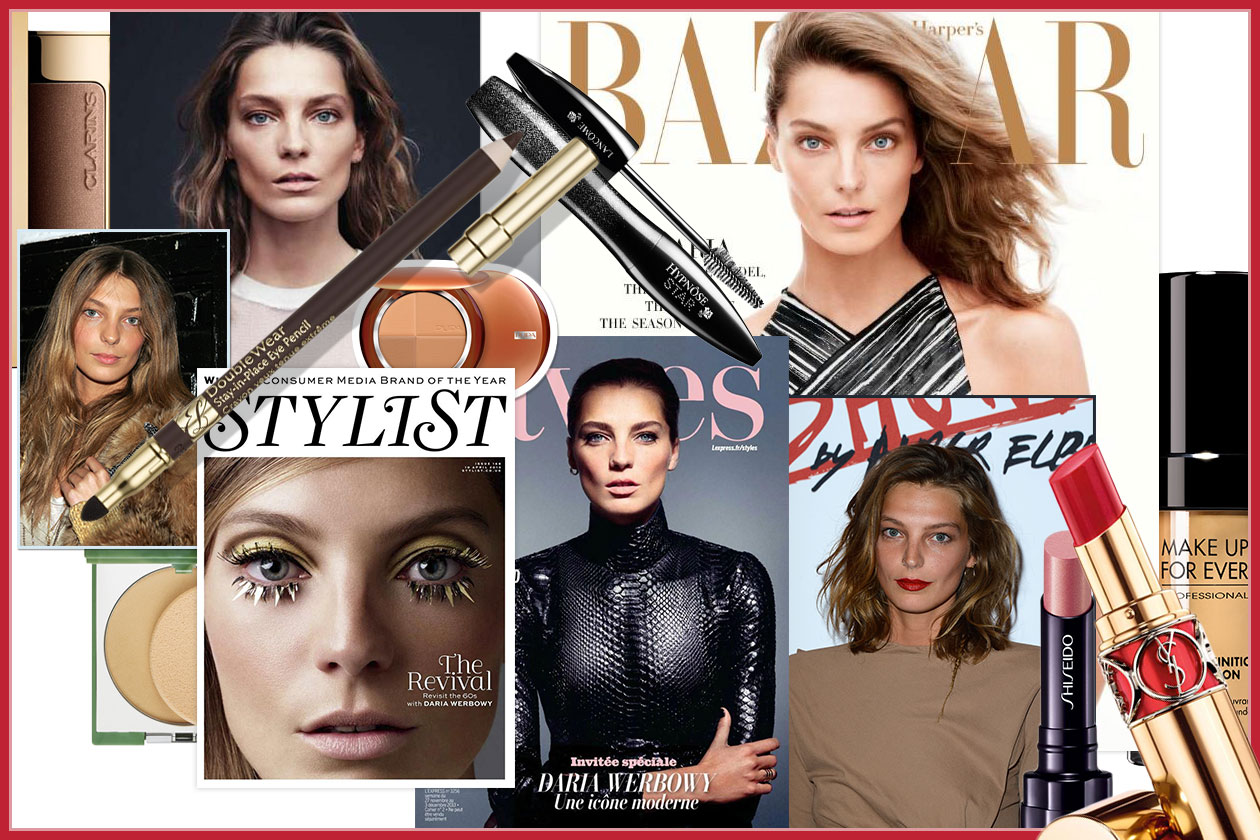 BEAUTY Daria Werbowy 00 Cover collage