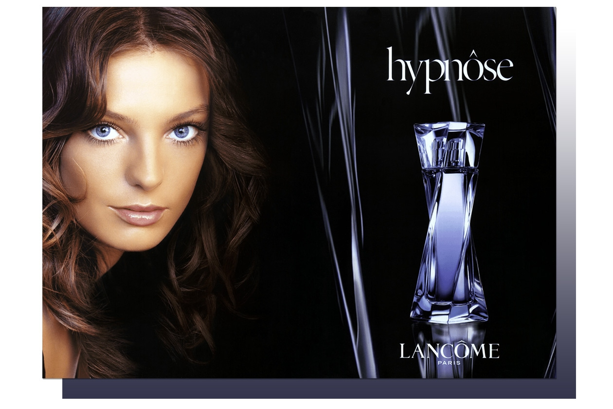 BEAUTY Daria Werbowy hypnose lancome