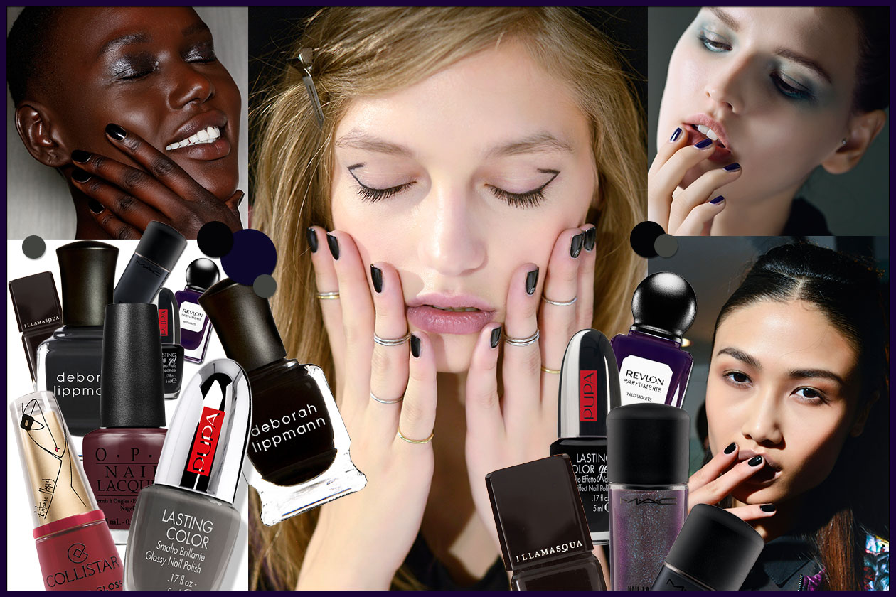 BEAUTY Dark Nails 00 Cover collage
