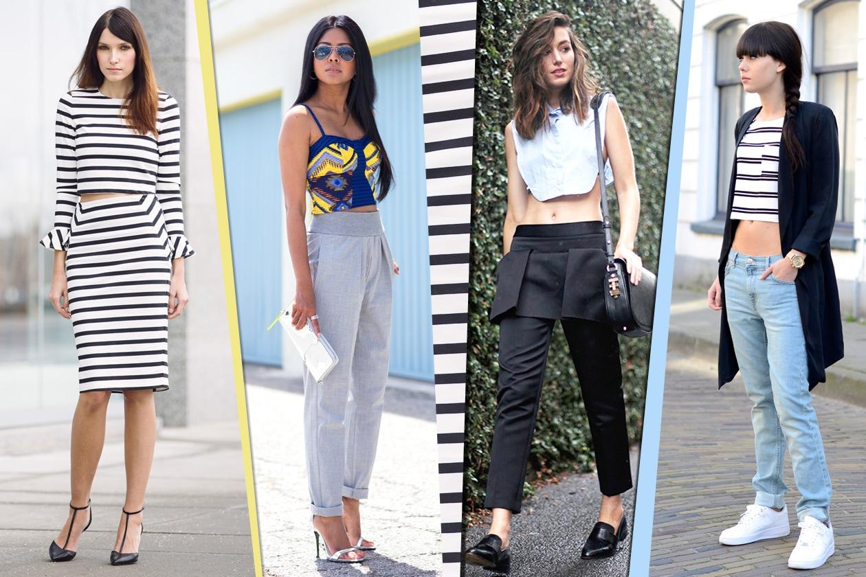 Le fashion blogger amano il crop top
