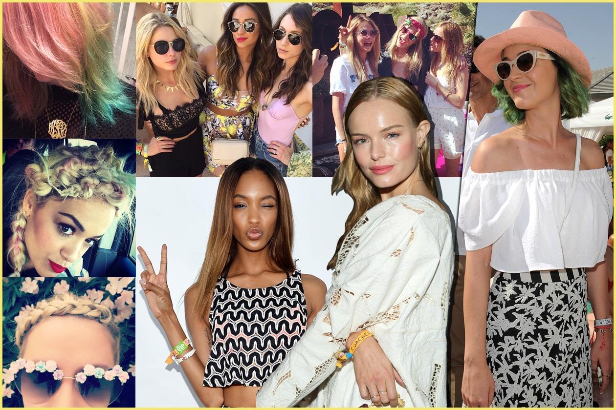 Coachella hairstyle: tutti i look capelli delle star al Coachella 2014