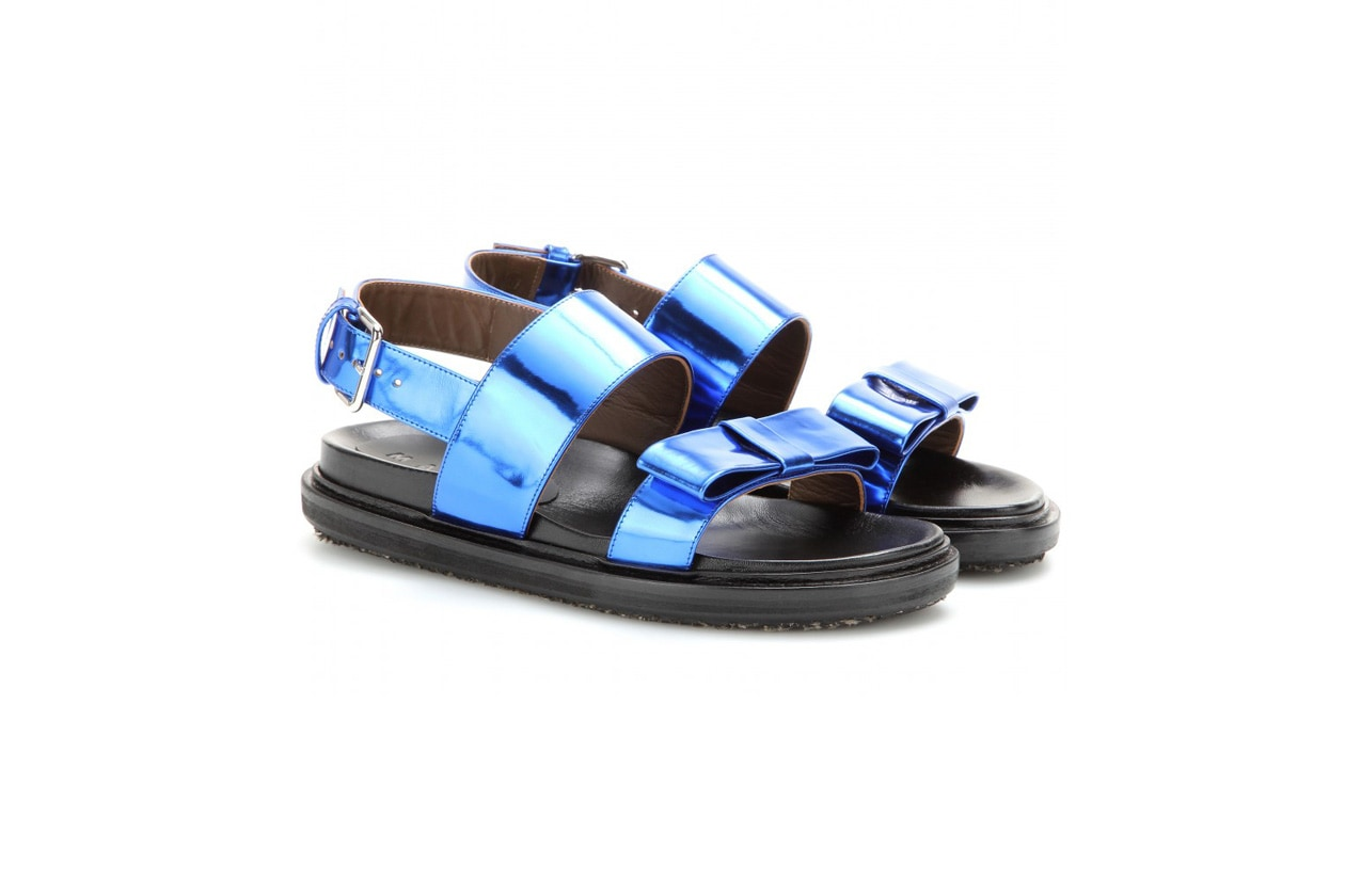 marni Patent leather sandals STANDARD