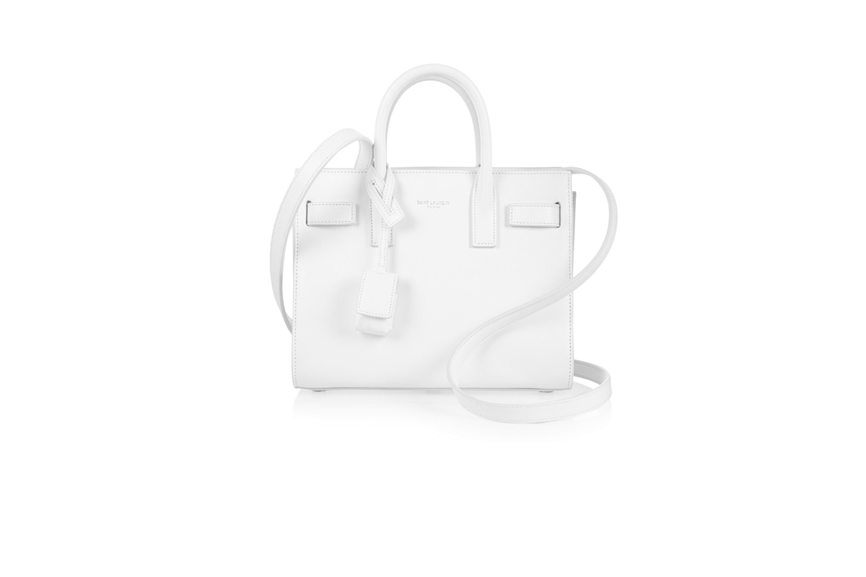 Fashion A pois come January Jones saint laurent bag