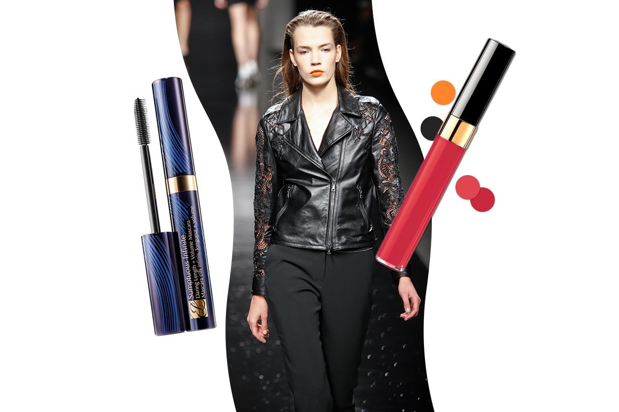 À LA GARÇONNE: glamour tomboyish. Ma la beauty bag è decisamente iperfemminile (John Richmond  – Chanel – Estée Lauder)