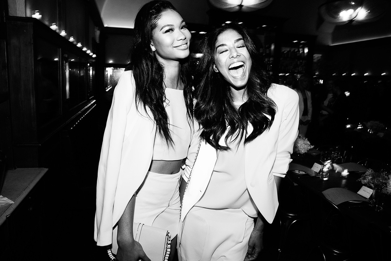 A24 Chanel Iman and Heidy de la Rose in Rag & Bone