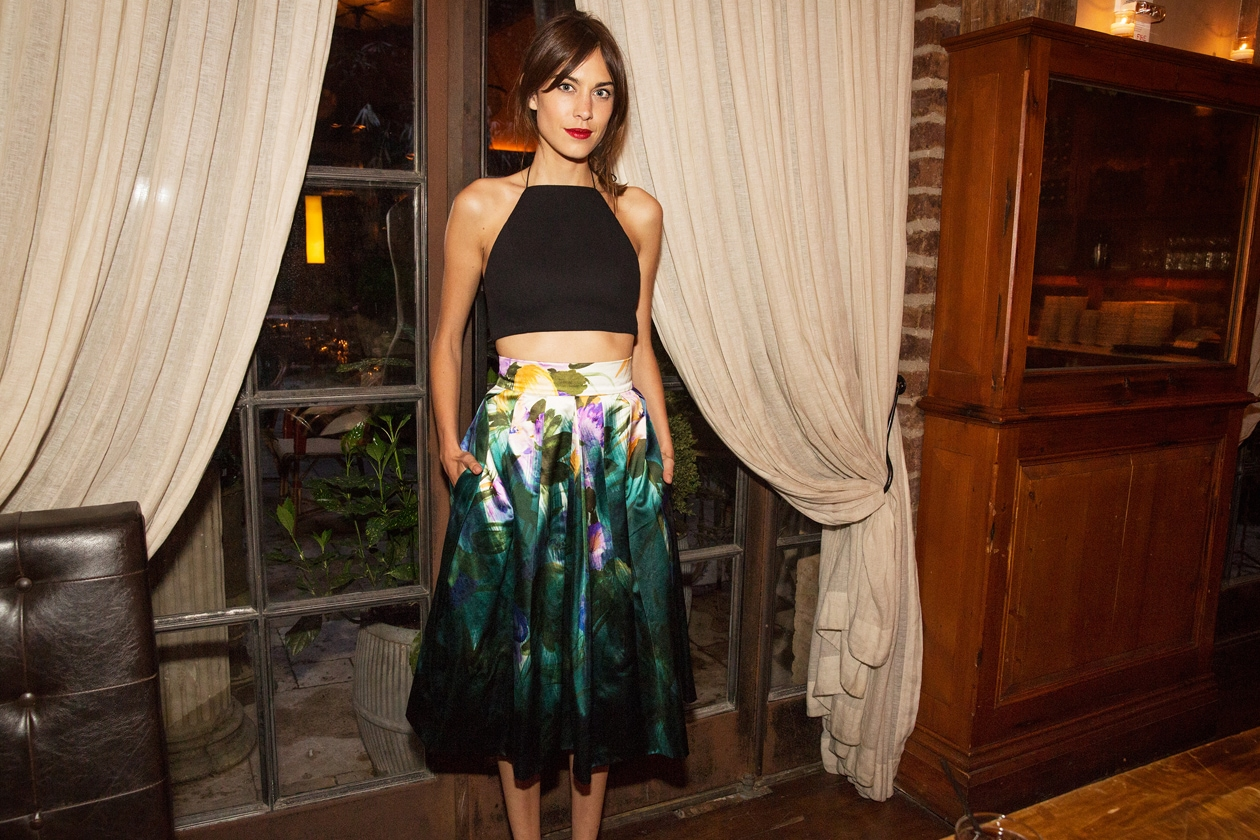 A5 Alexa Chung in Rag & Bone and Dries van Noten