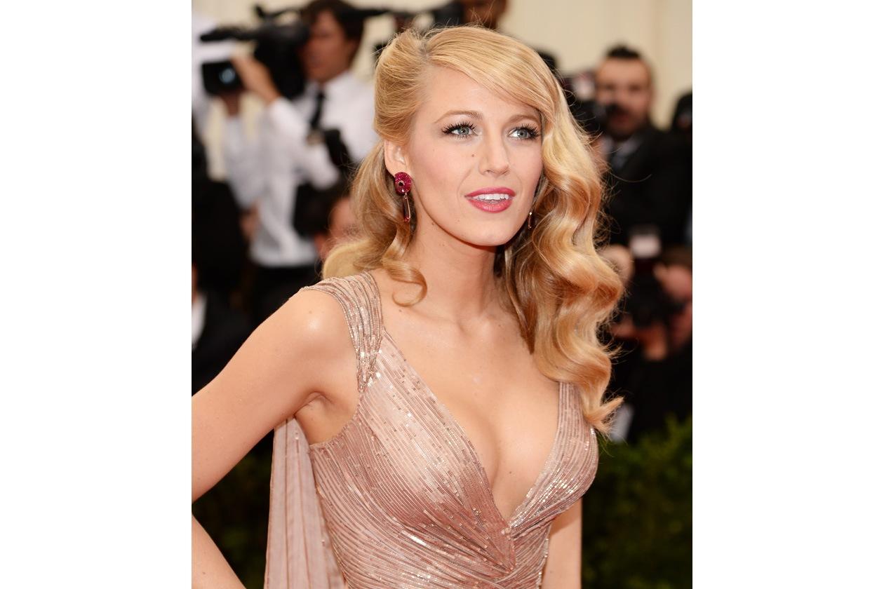 Anche il beauty look di Blake Lively non convince