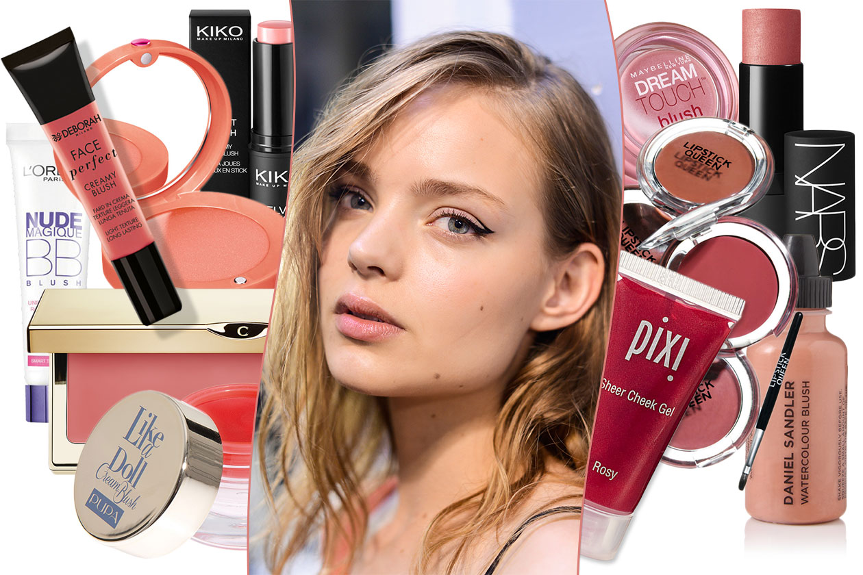 BEAUTY Blush in Crema 00 Cover collage