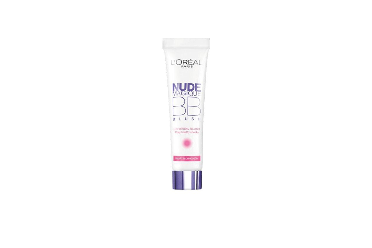 BEAUTY Blush in Crema L Oreal Paris Viso BB Cream Nude Magique Blush