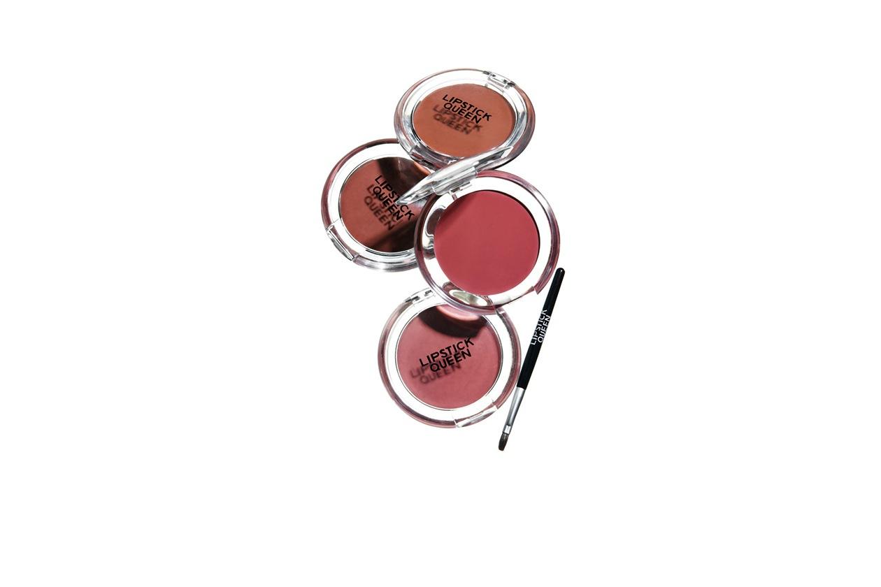 BEAUTY Blush in Crema Lipstick Queen Oxymoron Matte Gloss for Lips & Cheeks