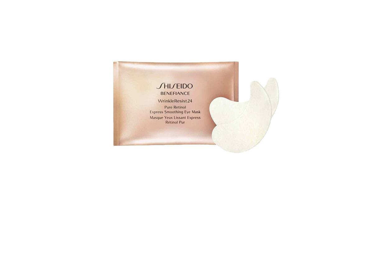 BEAUTY Contorno Occhi MASCHERA Shiseido Benefiance Pure Retinol Express Smoothing Eye Mask
