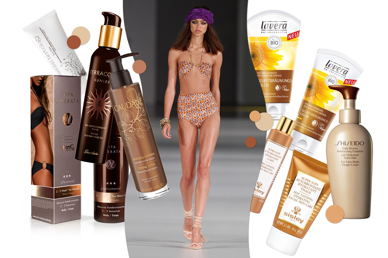 BEAUTY Fake tan 00 Cover collage
