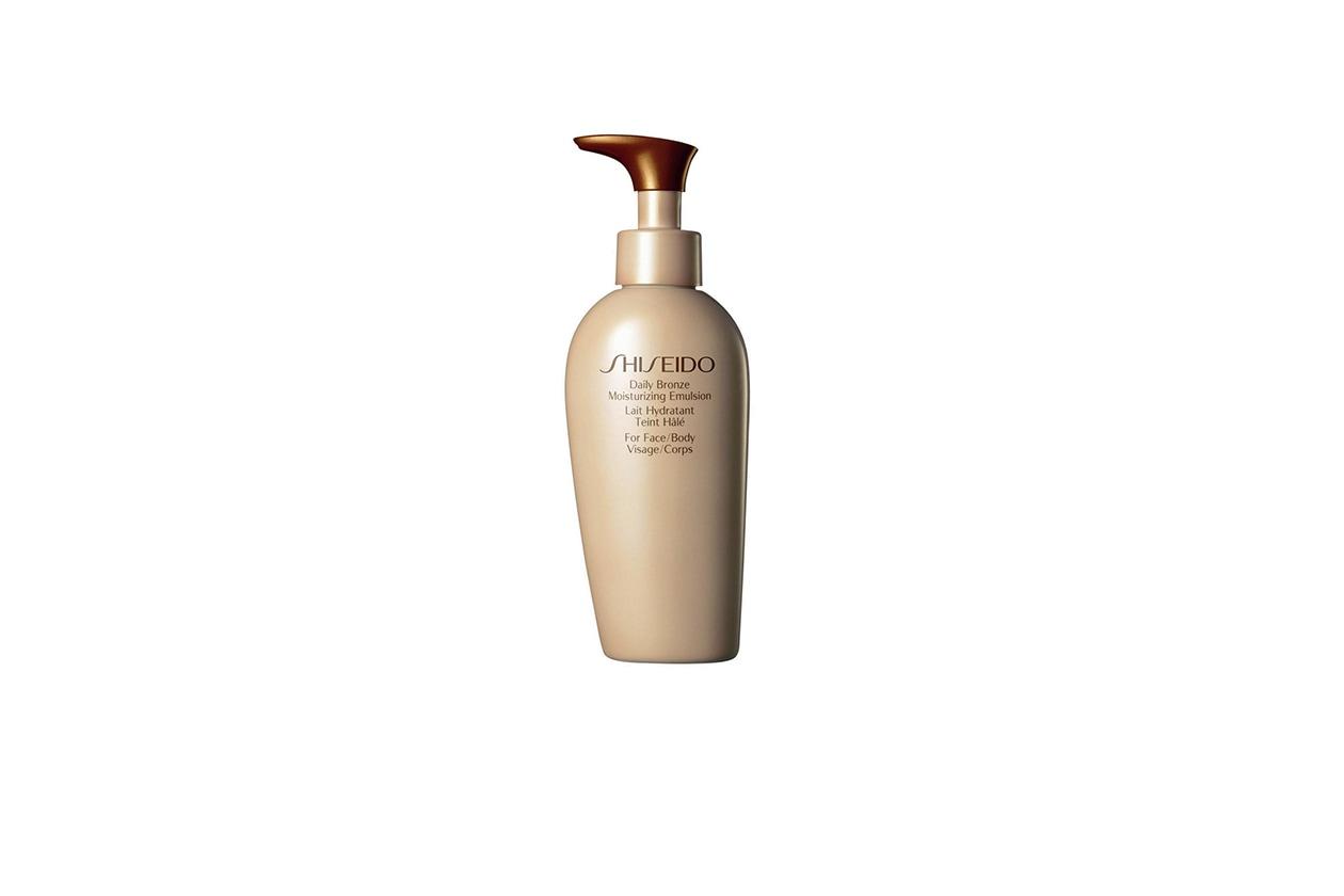 BEAUTY Fake tan Shiseido Autoabbronzanti Daily Bronze Moisture Emulsion