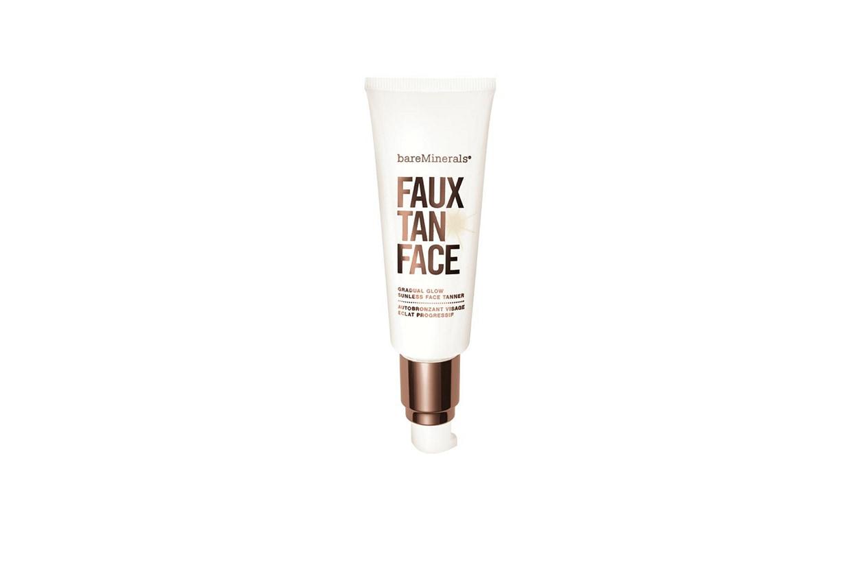 BEAUTY Fake tan bareMinerals Faux Tan Face Gradual Glow Sunless Tanner