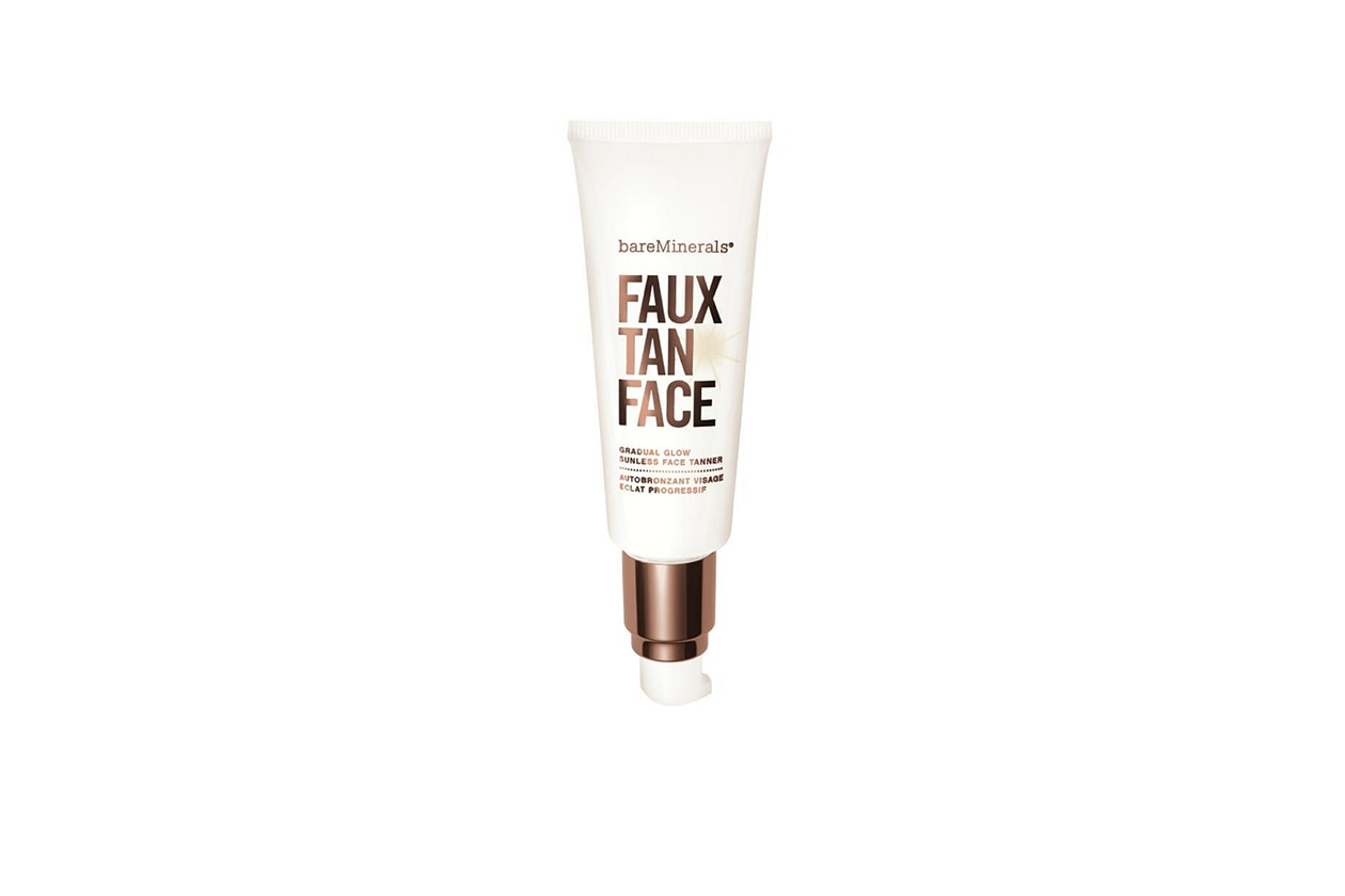 BEAUTY Fake tan bareMinerals Faux Tan Face Gradual Glow Sunless Tanner
