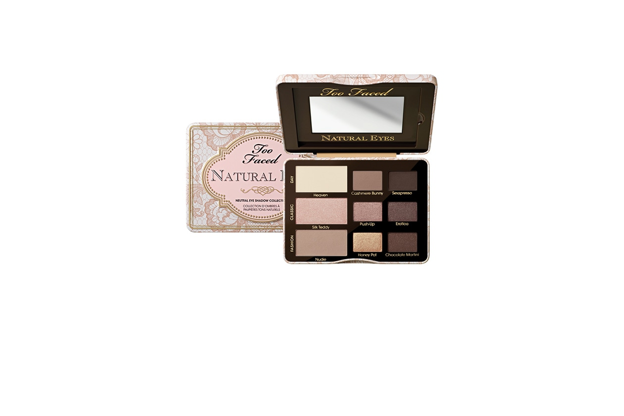 Beauty Bella Heathcote Too Faced Natural Eyes Kit