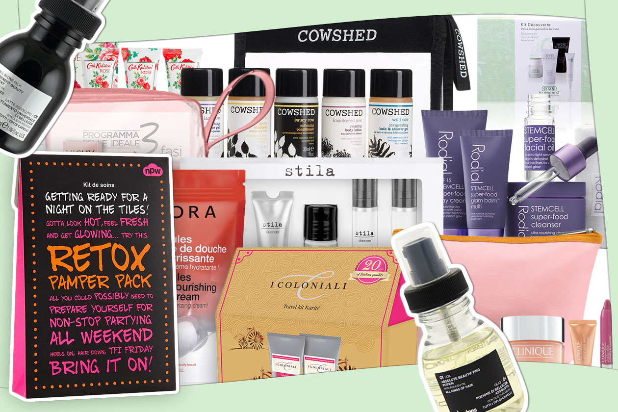 Beauty Kit da viaggio 00 Cover collage