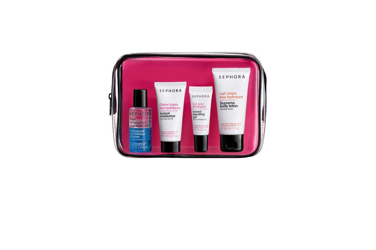 Beauty Kit da viaggio Sephora Kit viaggio weekend
