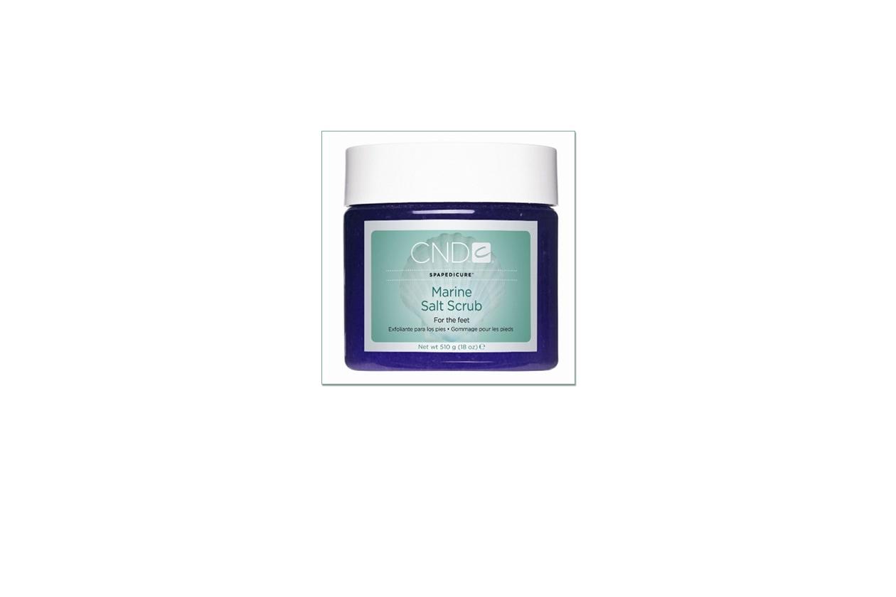 Beauty Piedi perfetti pedicure CND Marine Salt Scrub piedi