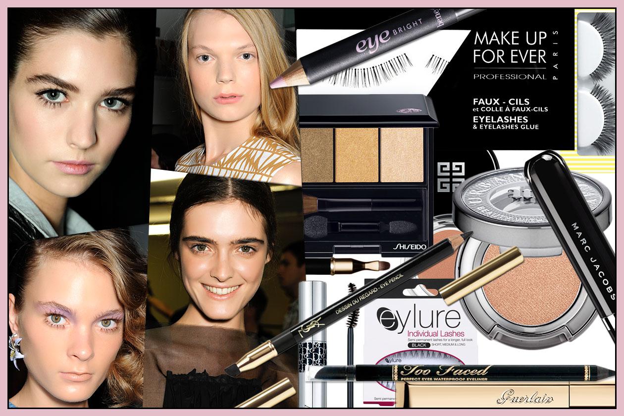 Beauty Trucco Occhi Piccoli 00 Cover collage