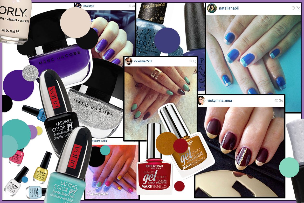 Beauty funky manicure 00 Cover collage
