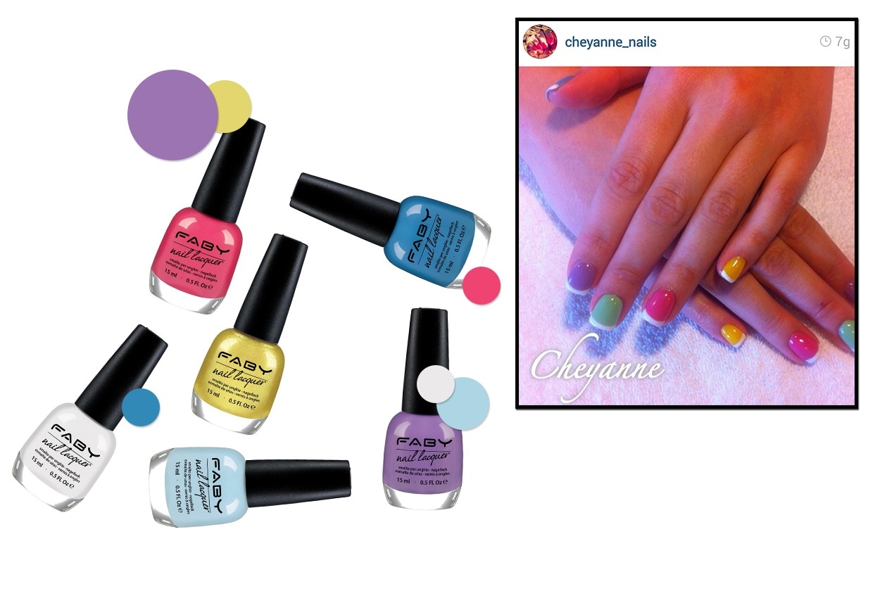 Beauty funky manicure inst11