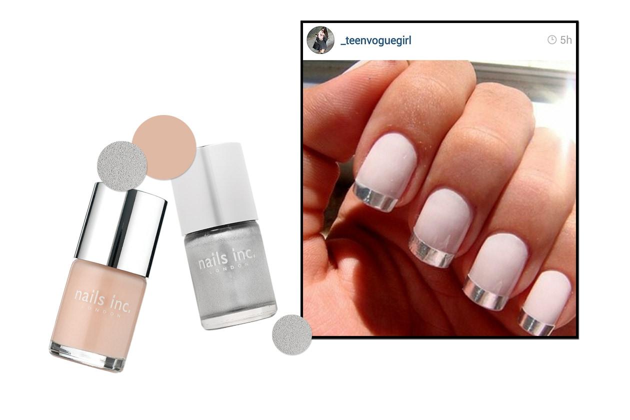 Beauty funky manicure inst4