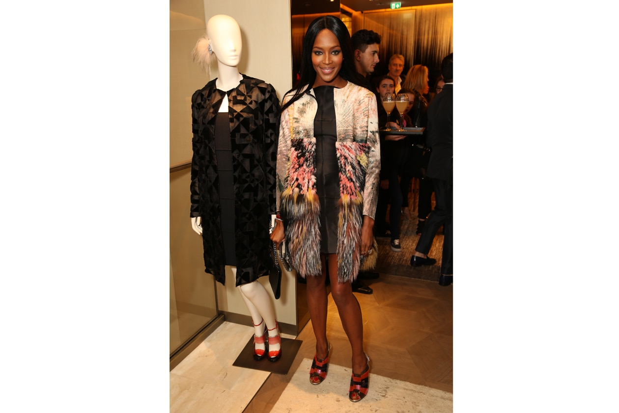 FENDI NBS OPENING NAOMI CAMPBELL