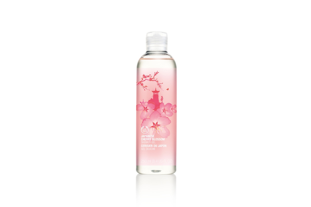 FIORI DI CILIEGIO The Body Shop Japanese Cherry Blossom Shower Gel