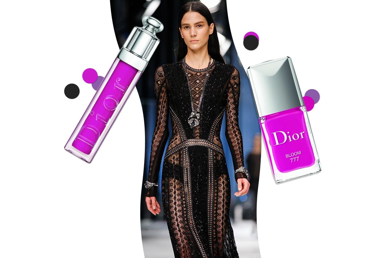 FLASH!: un abito sirena d'ispirazione gothic accostato a tinte decise (Roberto Cavalli –  Dior)