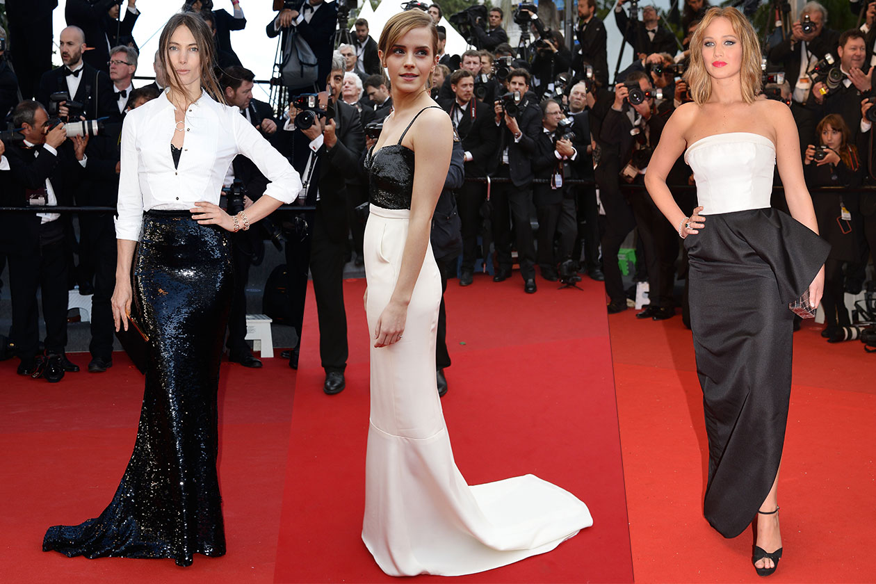Fashion Best of Cannes Bianconero 1