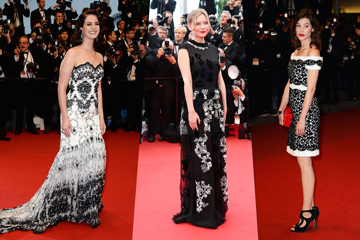Fashion Best of Cannes Pizzo bn