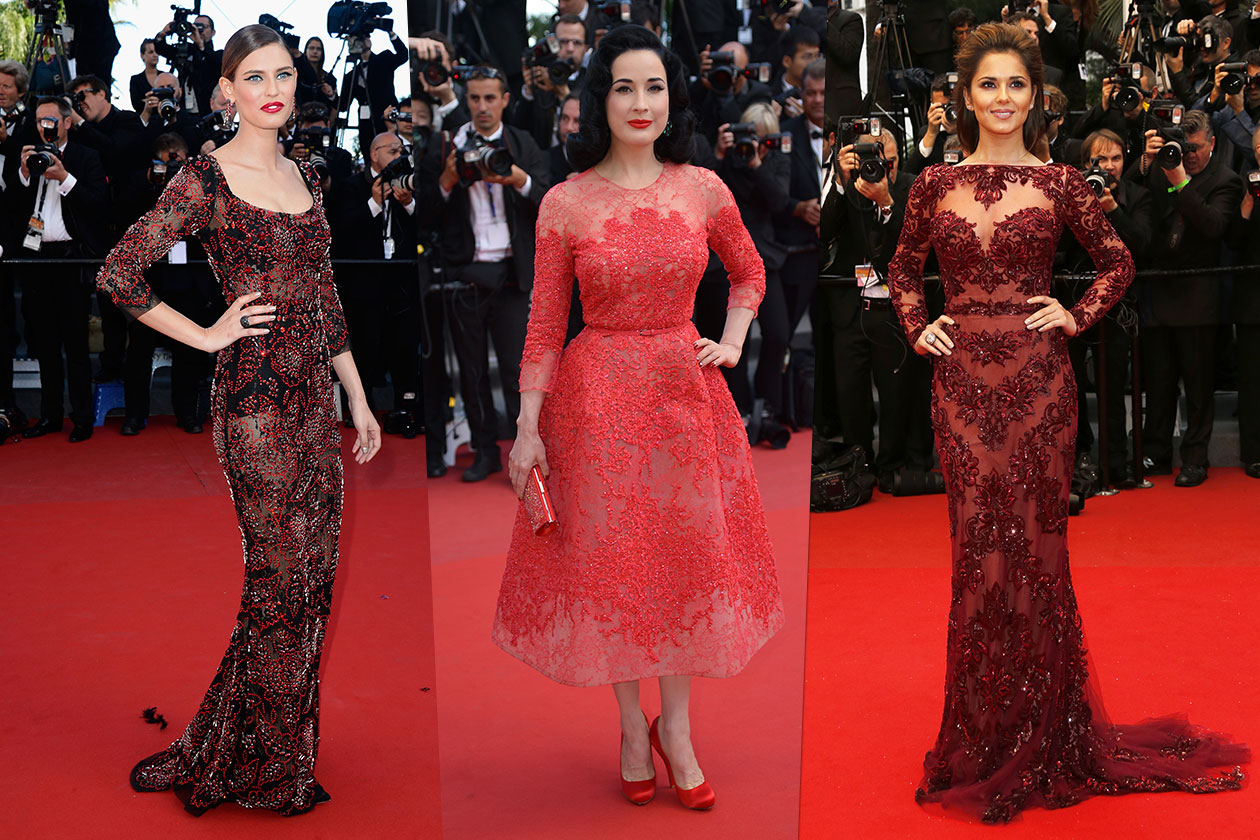 Fashion Best of Cannes Pizzo colore