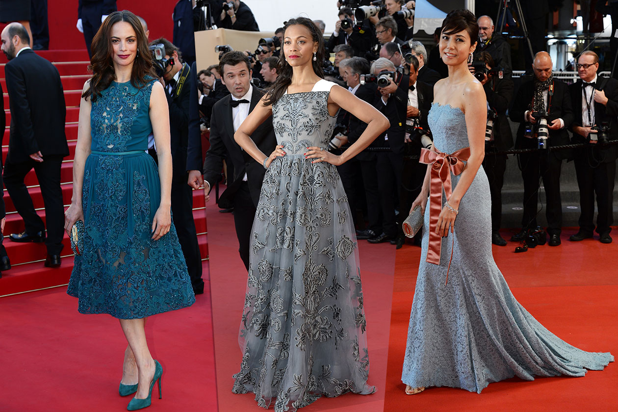 Fashion Best of Cannes Pizzo scuro