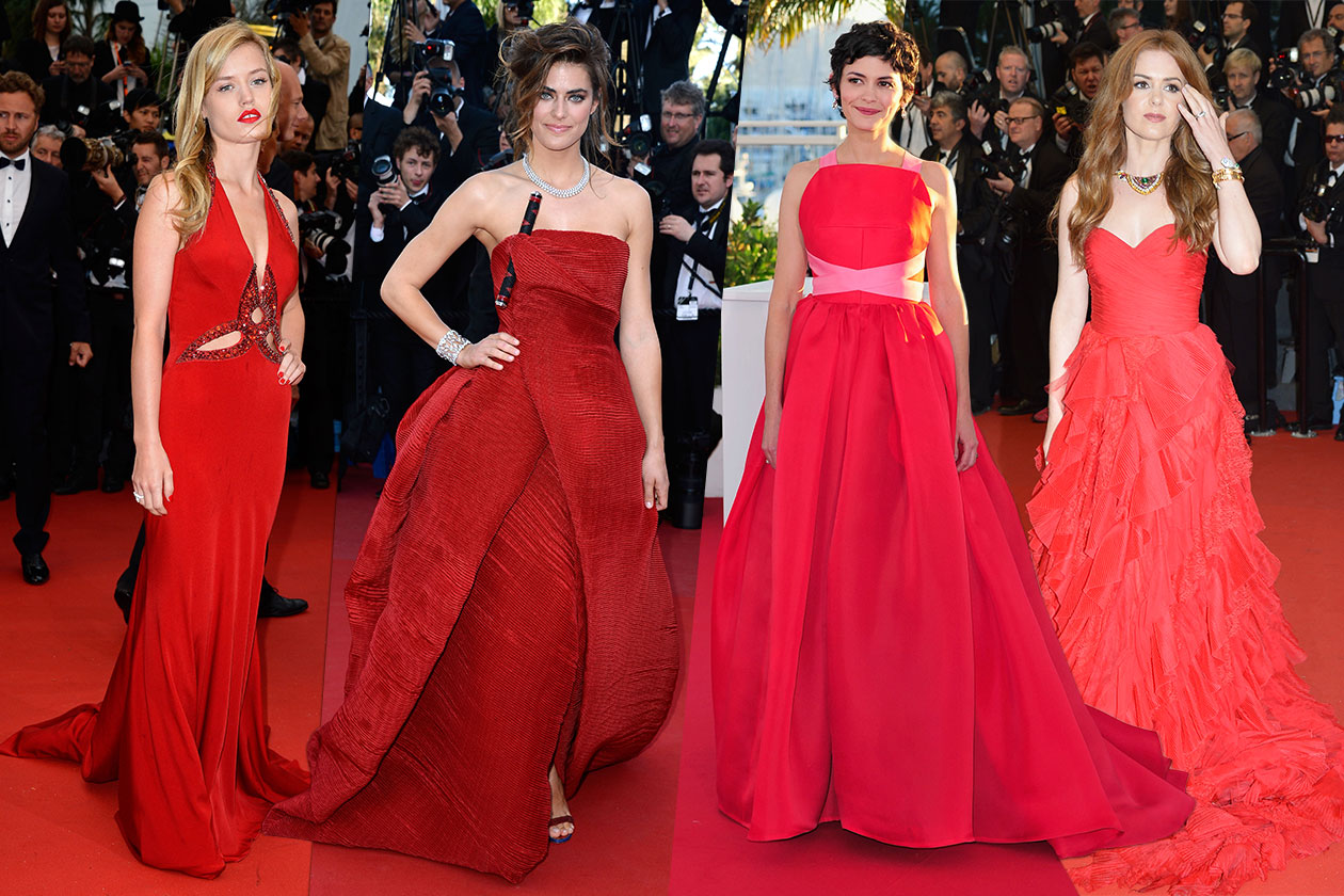 Fashion Best of Cannes Rosso
