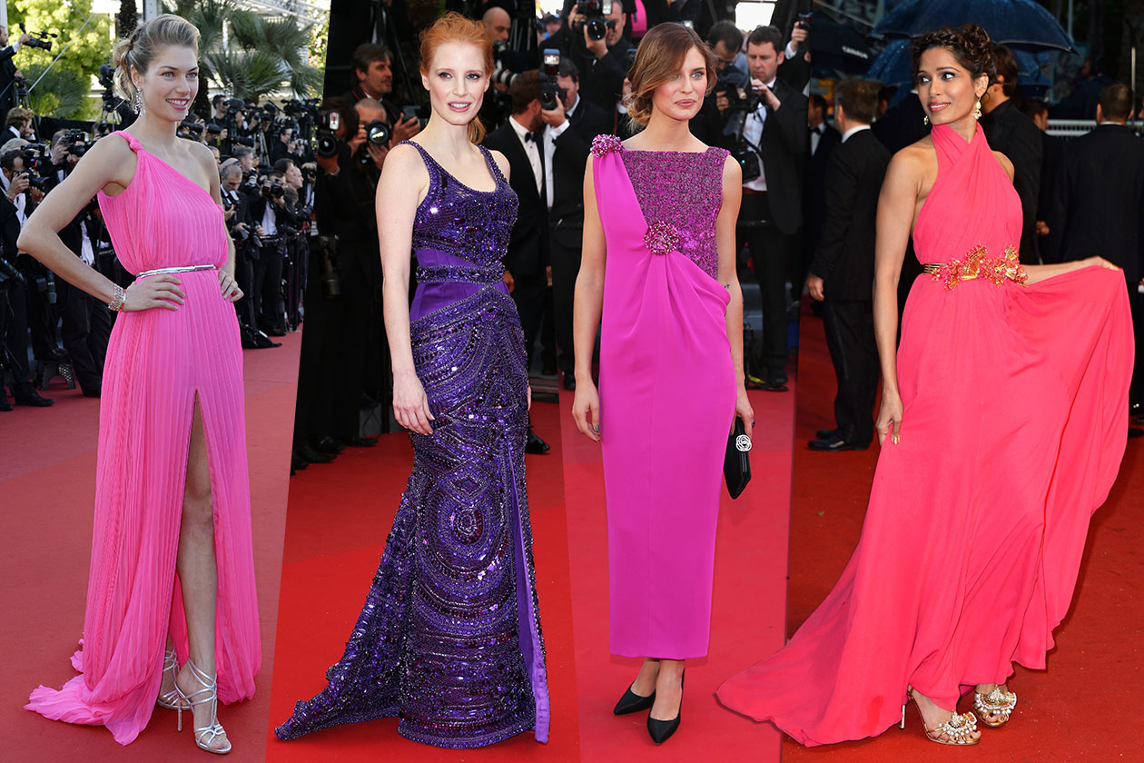 Fashion Best of Cannes fucsiaviola