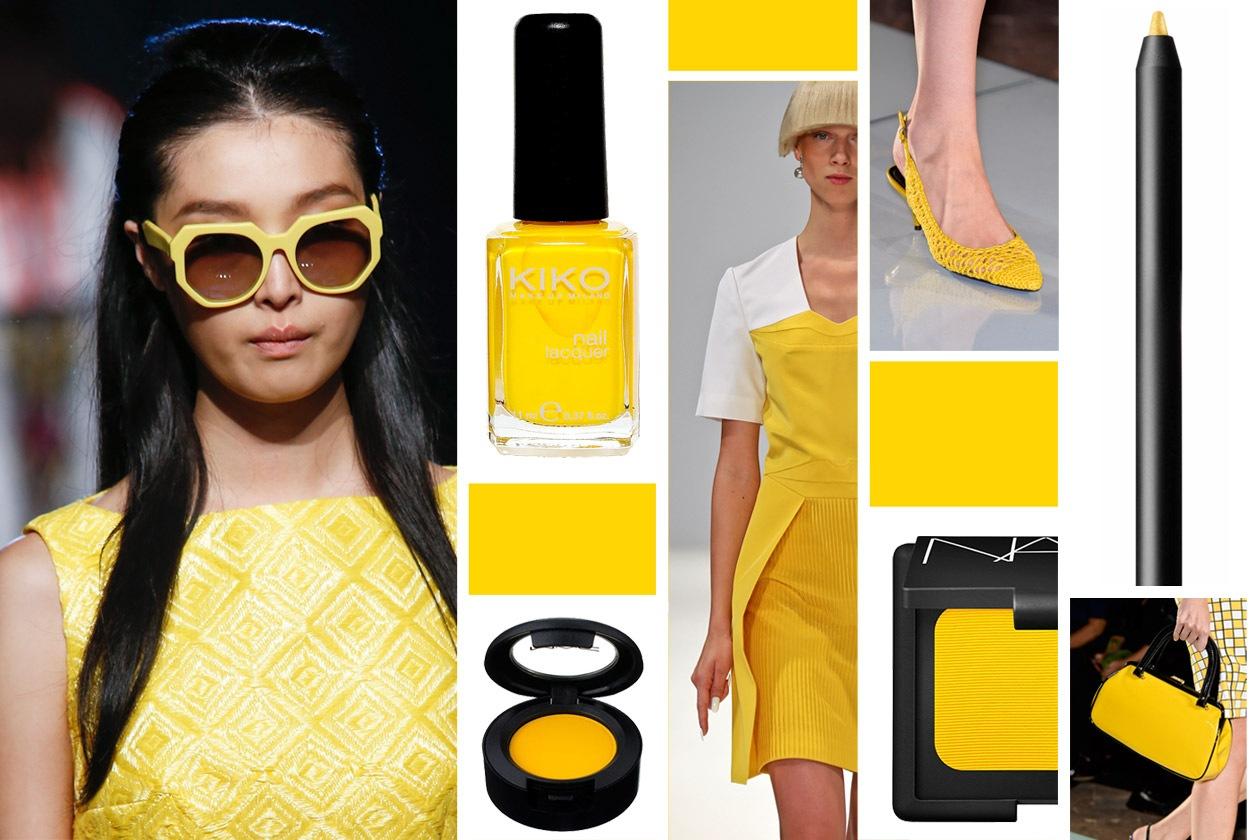 Giallo Fresia è il colore della primavera 2014 secondo Pantone. Gli abbinamenti beauty&fashion di Grazia.IT