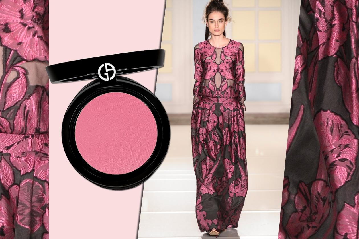 Giorgio Armani Mediterranea Cheek Fabric 507 Orchid e Temperley London
