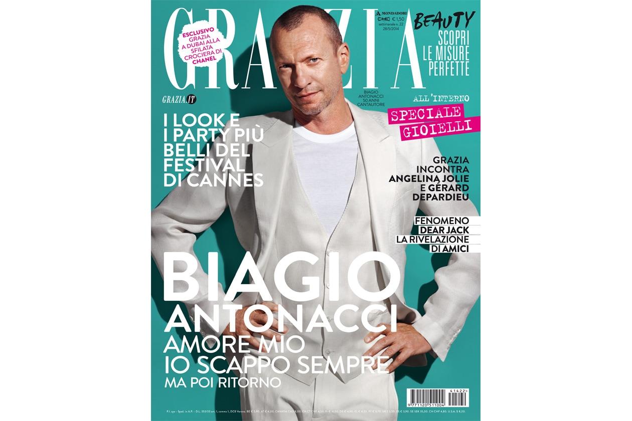 Grazia 22 2014 antonacci white