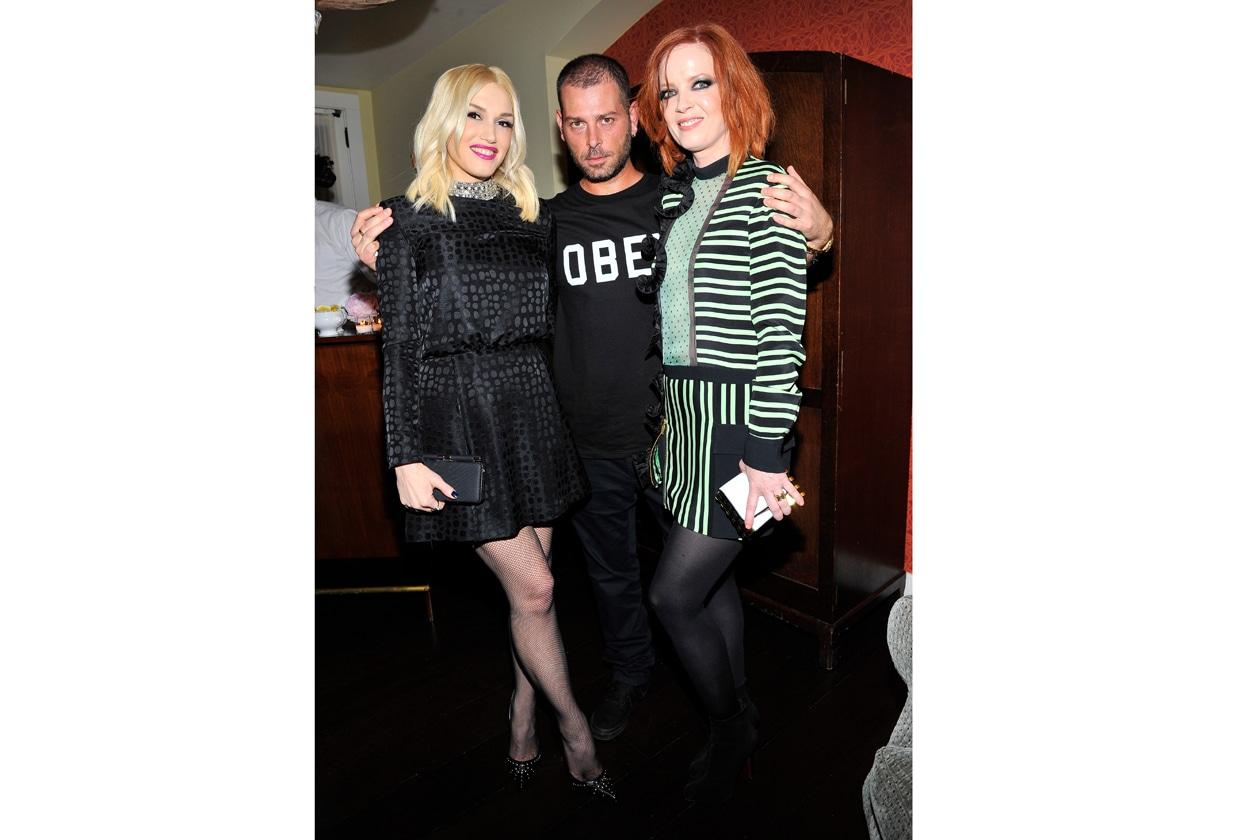 Gwen Stefani, Fausto Puglisi, Shirley Manson