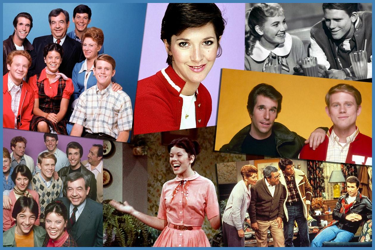 Il cast di Happy Days