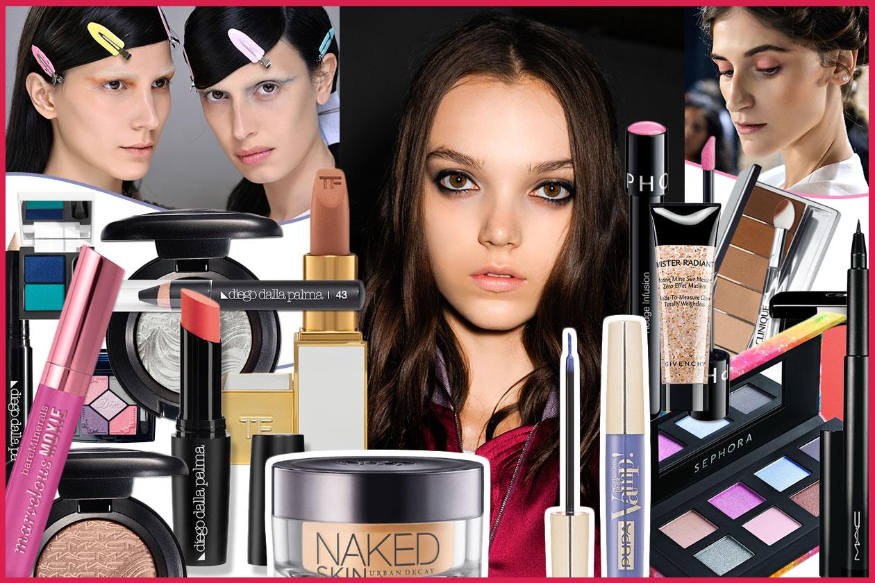 Il make up per le castane con gli occhi marrone: la selezione e i consigli di Grazia.IT ispirati alle passerelle primavera/estate 2014