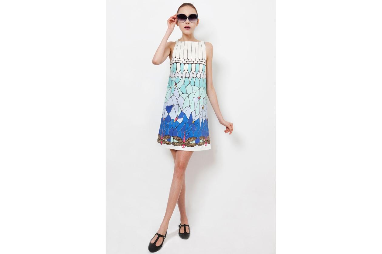 Il vestito con le libellule di Carlotta Poliglotta new designer