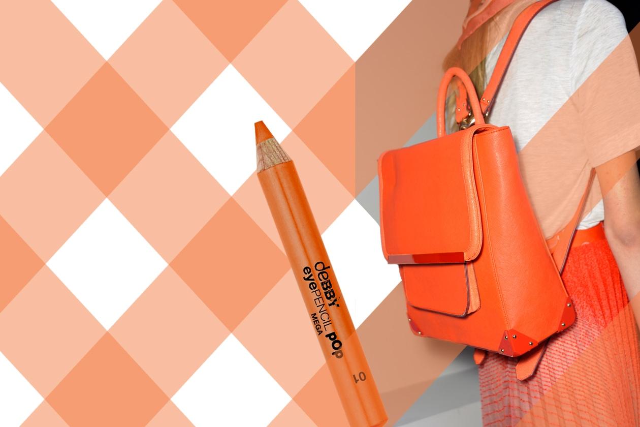 La tendenza di stagione vuole un full color o una riga di eyeliner pop/neon (deBBY – Ostwald Helgason)