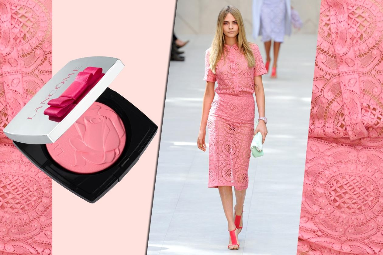 Lancôme French Ballerine Blush Highlighter 01 Rose Ballerine e Burberry Prorsum